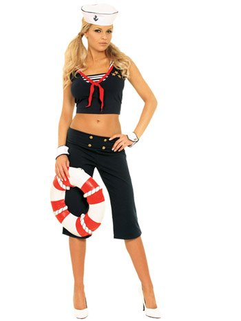 First Mate Womens Halloween Costume
