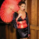 Geisha Oriental Japanese Doll Parasol  Umbrella