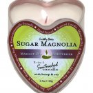 Earthly body 3 in 1 candle - 4.7 oz sugar magnolia