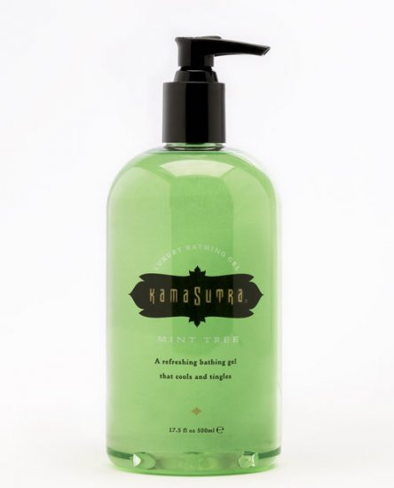 Kama sutra bath gel - 17.5 oz mint tree