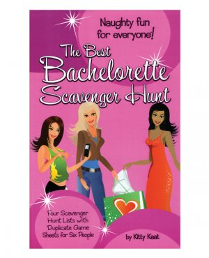 four  different scavenger hunt bachelorette party game