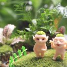 2PC Mini Huba FIgure Movie Toy Fairy Garden Miniature  Micro Landscape Decor