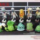 10pcs Set  Figurine Plants vs Zombies PVC Action Figures Toys Game Collectibles