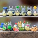 12pcs my neighbor totoro Figure Fairy Garden Accessories  Miniature Cat Figurine