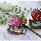 6pcs set Miniature Villa Figurine Fairy Garden  DIY Dollhouse Suppliers  Toys