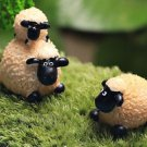 2PCS Fat Sheep Family Figure Fairy Garden  Miniature Minions Figurine Landscape