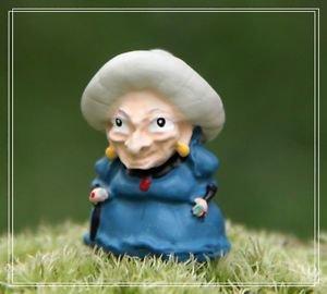 Spirited away Witch Grandma Figure Toy Desk Decor Fairy Garden Decor Miniature
