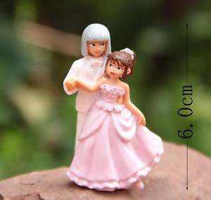 Spirited Away Wedding Set Figurine Fairy Garden Miniature  Bedroom Displa