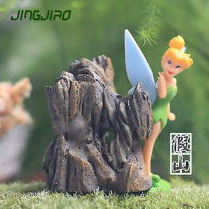 1 Mini Artificial Rockery Fairy Garden Miniature Figurines Terrarium Toys Decor
