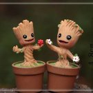 2XGalaxy Tree Elf Figure Fairy GardenCartoon Miniature Toy Succulent Moss Decor