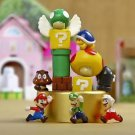 12pc Super Mario figure Collectibles Desk Display Home Decor Garden Toy Decor