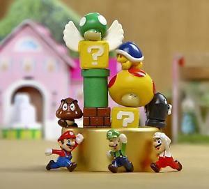 12pc Super Mario figure Collectibles Desk Display Home Decor Garden Toy Decor