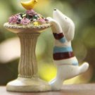 ZAKKA  Dog parterre Mini Garden Fairy Figurine Toy Gardening Suppliers Miniature