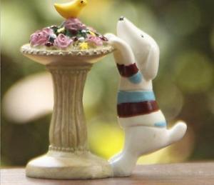ZAKKA  Dog parterre Mini Garden Fairy Figurine Toy Gardening Suppliers Miniature