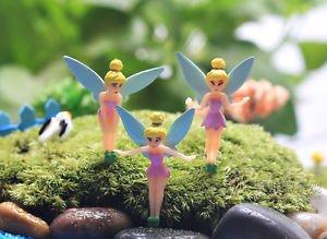 5PCS Mini fairies Angel Girls Figure Fairy Garden  Miniature Minion Toys Decor