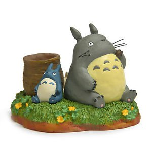 Tonari no Totoro Brush pot Desk Figure Christmas Gift Fairy Garden Toy