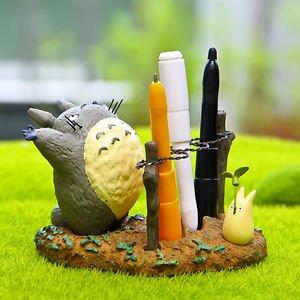 My Neighbor Totoro Pen Container Pot Gardens Dollhouse Figure Flowerpot Display