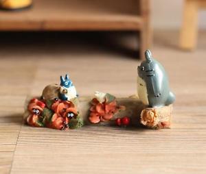 My neighbor totoro Theater Ver. Figure Season Autumn Fairy Garden Display Toy