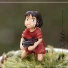 Spirited away Server Girl Figure Toy Desk Decor Fairy Garden Decor Miniature