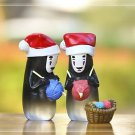 2pc Set spirited away Ghost Men Xmas Gift Figure Fairy Garden Miniature Toys
