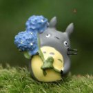 ZAKKA Home Decor Flower Totoro Fairy Garden  Miniature Fairies Figurie Toy Decor