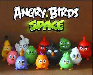 12pc Angry Birds Figurine Display Figure Toy Collectibles Xmas Christmas Gift