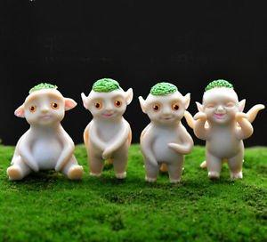 4X Mini Hoopa Movie Figure Toys Collectibles Fairy Garden Accessories Miniature