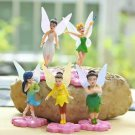 5pc Fairy Girls Flower Figurine Fairy Garden Plants Decor Figure Toy Fun Gift