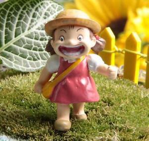 Mei on School Home Decor Ornaments Fairy Garden Totoro Figure Toy Mini Decor
