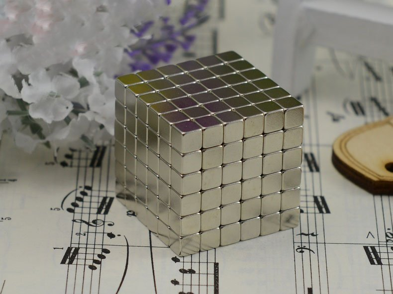 216pcs 5mm DIY Neocube Buckyballs Cube Shape Neocube Magnet Toy - USPS Shipping Free