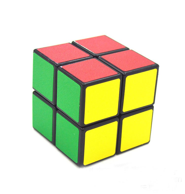 High Quality Rubiks Cube 2x2x2 Children IQ Test Puzzle Twist Game Toy