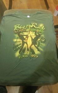Big & Rich Loud & Proud 2009 Adult Large Unisex Tour T-Shirt