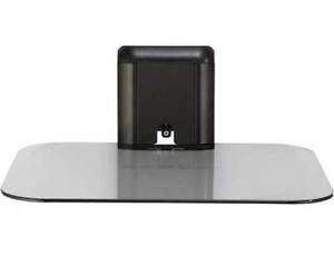 Sanus On-Wall AV Shelf for Components Up to 15 lbs VMA401-B1 Tempered Glass