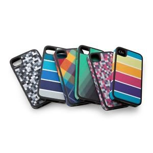 Speck - FabShell Case for Apple ® iPhone ® 4 and 4S Hard plastic plus soft rubbe
