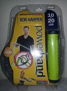 GoFit Power Bands with Bob Harper Training DVD GF-BHFB10