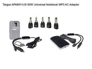 New Targus APA6911US 90W Universal Notebook MP3 Charger