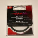 Rocketfish - 55mm UV Lens Filter RF-UVF55