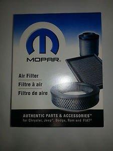 NEW ENGINE AIR FILTER 3.7L 4.0L MOPAR 68037059AA OEM - Set of 10