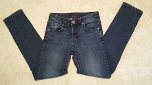 Paper Denim & Cloth Boys Girls Skinny Straight Leg Blue Jeans Size 8 24W 25L