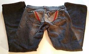 Rare CoH Citizens of Humanity Womens Big Sur Flare Low Rise Denim Jeans W30 L32