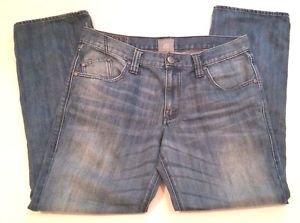 Rock & Republic Colburg Skinny Mens Distressed Denim Blue Jeans Size W34 L30