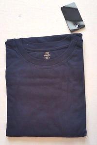Mens Russell Pro Cotton Big Tall Short Sleeve Navy Blue T-Shirt Shirt NWT Sz 5X