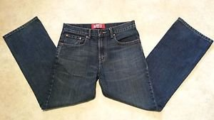 Levis 527 Boot Cut Boys Youth Cotton Denim Blue Jeans size 16 Regular W28 L28