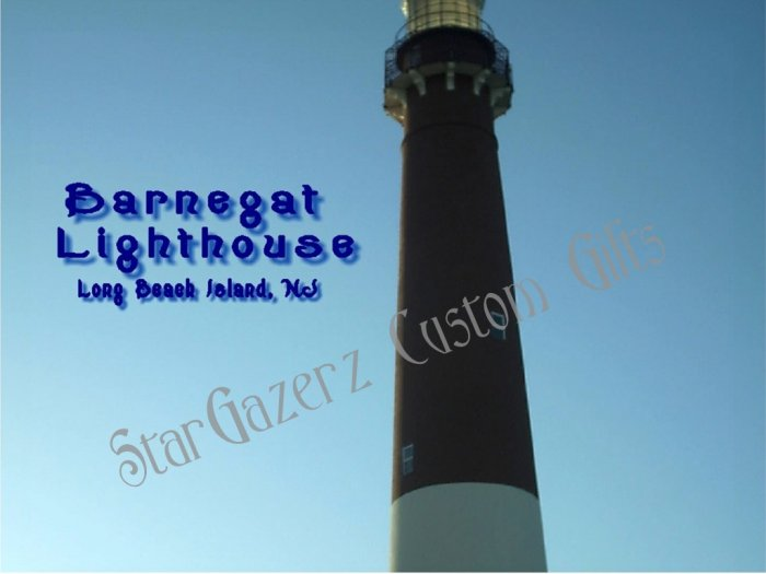 Mouse Pad - Barnegat Lighthouse - Landmark