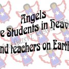 T-Shirt - Unisex - Inspirational - Teachers are Angels