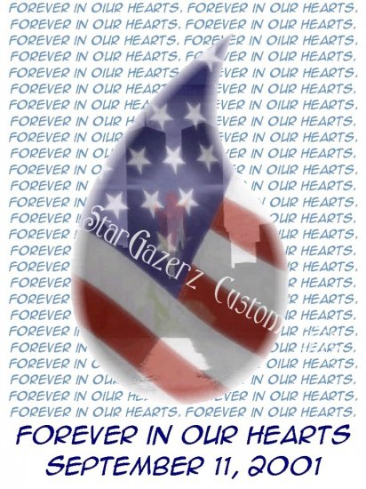 T-Shirt - Unisex - Patriotic - Forever In Our Hearts