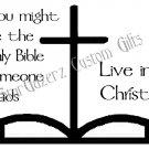 T-Shirt - Unisex - Religious - Live In Christ