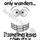 T-Shirt - Unisex - Humorous - Wandering Mind #2