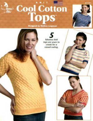 Cool Summer Tops Knit Knitting Pattern Patterns