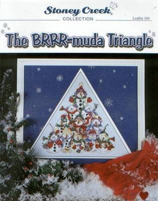 BRRR-muda Triangle - New Cross Stitch Christmas Pattern